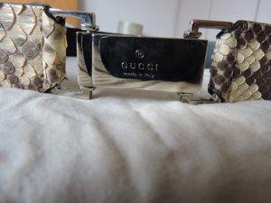 Gucci Kroko Ledergürtel