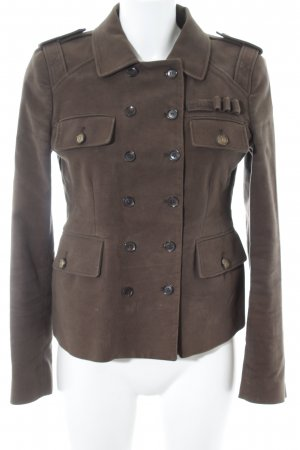 Gucci Korte blazer grijs-bruin elegant