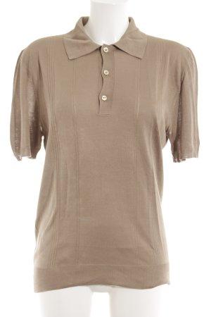 Gucci Kurzarmhemd beige Casual-Look