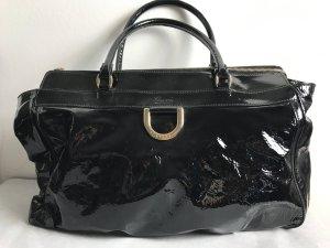Gucci Lackleder Tasche schwarz groß