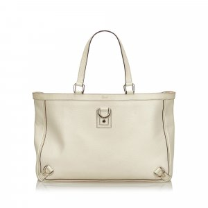 Gucci Leather Abbey D-Ring Tote