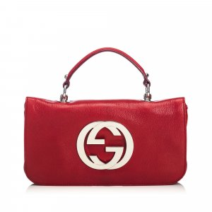 Gucci Leather Blondie Flap Bag