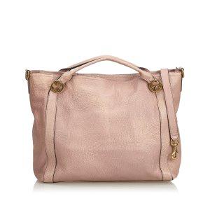 Gucci Satchel beige leather