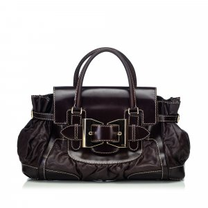 Gucci Leather Dialux Queen Handbag