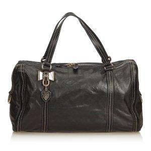 Gucci Leather Duchessa Boston Bag