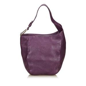 Gucci Hobos purple leather