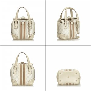 Gucci Leather Guccissima Treasure Handbag