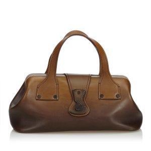 Gucci Handbag brown leather
