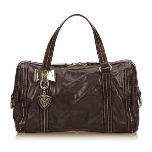 Gucci Handbag brown leather