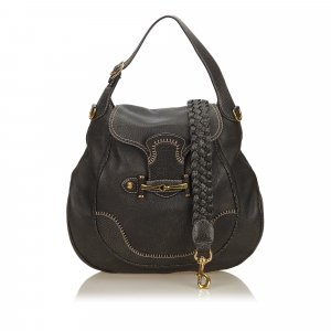Gucci Leather New Pelham Hobo