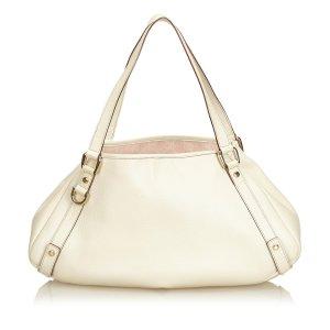 Gucci Tote white leather