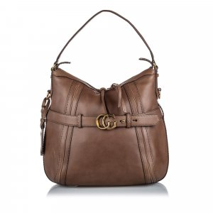 Gucci Leather Running Tote