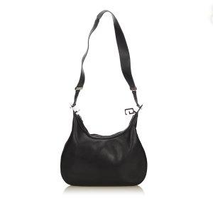 Gucci Shoulder Bag black leather
