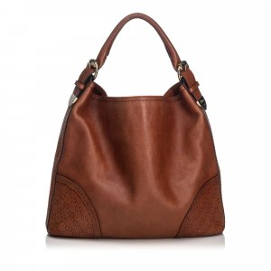 Gucci Leather Signoria Hobo