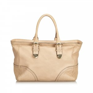 Gucci Leather Signoria Tote