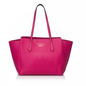 Gucci Tote roze Leer