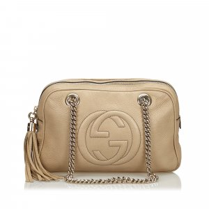 Gucci Leather Soho Chain Shoulder Bag