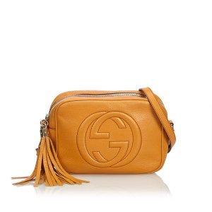 Gucci Leather Soho Disco Crossbody Bag