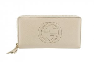 Gucci Leather Soho Long Wallet