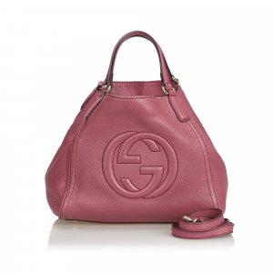 Gucci Leather Soho Satchel