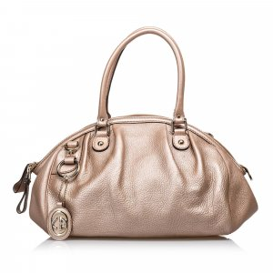 Gucci Leather Sukey Handbag