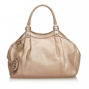 Gucci Leather Sukey Hobo Bag