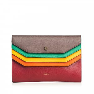 Gucci Clutch brown leather