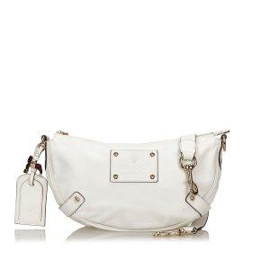Gucci Shoulder Bag white leather