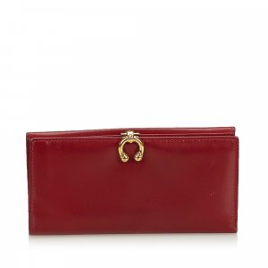 Gucci Wallet red leather