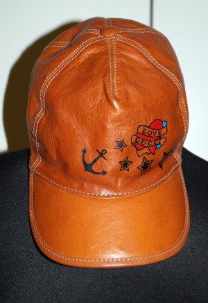 Gucci Leder Baseballcap - Unisex - NEU