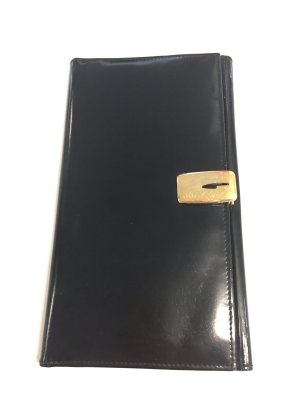 Gucci Portefeuille noir-doré cuir