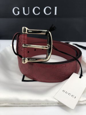Gucci Leder Gürtel Große-42-XL-105cm