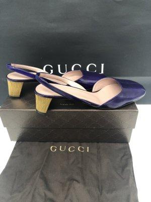 Gucci Leder Pumps m Swarovski NEU Große-39