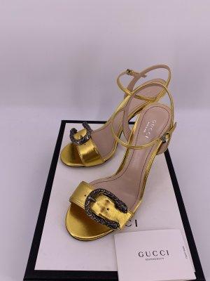 Gucci Leder Sandalen Pumps Dionysus Gr-39