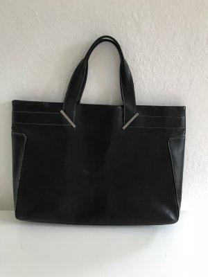 GUCCI Leder Tasche in schwarz