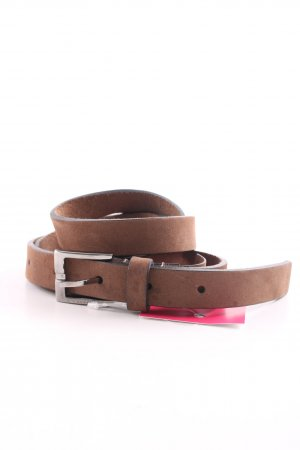 Gucci Cintura di pelle bronzo stile casual