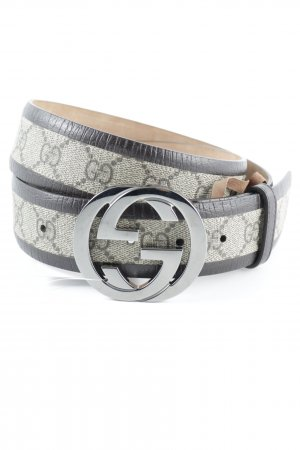 "Gucci Leather Belt ""GG Eyelet Leather Belt Brown 90"""