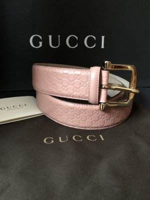 Gucci Leather Belt rose-gold-coloured