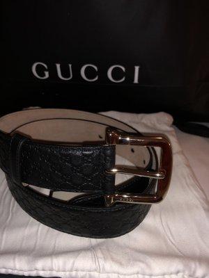 Gucci Ledergürtel Große-90-36 schwarz Länge-102cm
