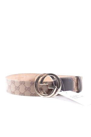 Gucci Ledergürtel mehrfarbig Eleganz-Look