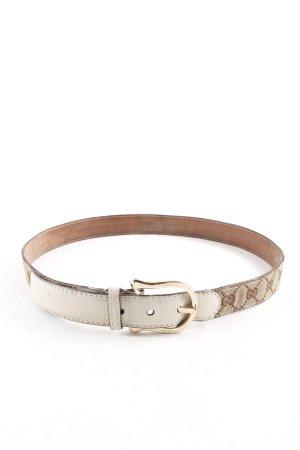 Gucci Cintura di pelle modello monogramma elegante