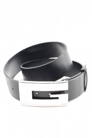 Gucci Leather Belt black casual look
