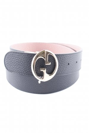 Gucci Leather Belt black simple style