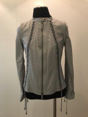 Gucci Leather Jacket light grey