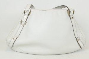 GUCCI Ledertasche Tasche weiß
