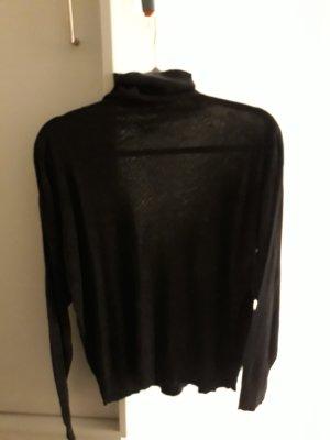 Gucci Camisa tejida negro-gris antracita