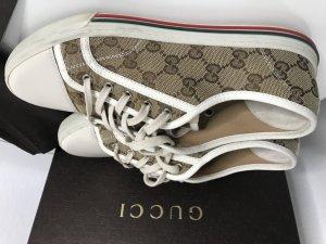 Gucci Leinen Sneakers