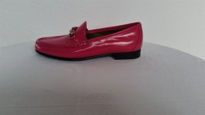 Gucci Moccasins magenta leather
