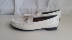 Gucci Moccasins white leather