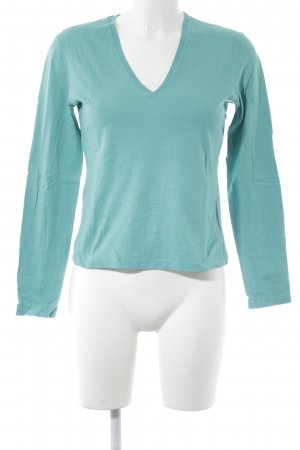 Gucci Longsleeve turquoise casual look